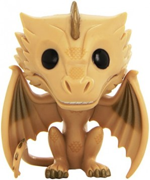 Funko Bobugt022 Figurita Cine Juego de Tronos Bobble Head Pop Viserion 22 Exclusiva 0