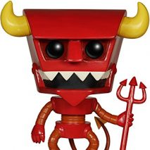 Funko Figurita Futurama Robot Devil Pop 10cm 0849803052379 0
