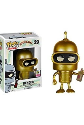 Funko-Pop-Collection-Futurama-Gold-Bender-SDCC-2015-0849803056278-0