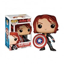 Funko Figurine Marvel Avengers Age of Ultron Black Widow Avec Bouclier Exclu Pop 10cm 0849803065089 0
