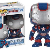 POP MARVEL IRON MAN 3 IRON PATRIOT 375 FIGURE 0