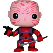 Pop Marvel Deadpool Vinyl Figure Maskless Red Version 0