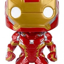 Pop Pelculas Marvel Capitn Amrica Civil War Iron Man Figura de accin 0
