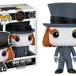Funko POP Alice Through The Looking Glass Alice Kingsleigh Mad Hatter McTwisp Time Iracebeth Chessur Vinyl Figure Set NEW 0 5
