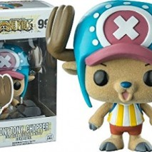 One Piece POP Television Vinyl Figure Tony Tony Chopper Flocked 9 cm Funko Mini figures 0