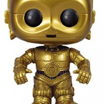 FUNKO Pop Star Wars C 3PO Collectible figure Star Wars action figures collectibles Collectible figure Dibujos animados Star Wars Negro Oro Vinilo Caja Figura Star Wars Funko C3PO 10cm 0