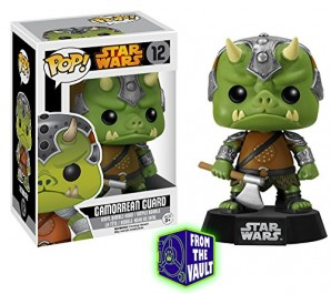 Funko Estatuilla Star Wars gamorreano Guardia de Negro Pop 10cm 0849803060404 0 0