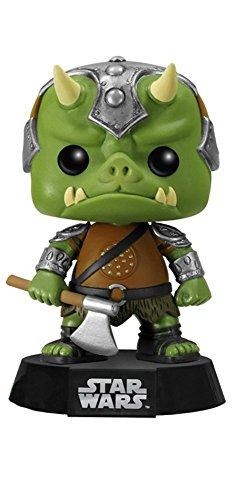 Funko Estatuilla Star Wars gamorreano Guardia de Negro Pop 10cm 0849803060404 0