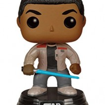 Funko FK 6422 POP Star Wars The Force despierta Finn sable de luz con la figura de vinilo 10 cm 0