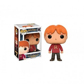Funko Figurine Harry Potter Ron In Sweater Exclu Pop 10cm 0889698109963 0