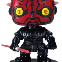 Funko PDF00003872 Figura con cabeza mvil Darth Maul Star Wars PDF00003872 Figura Head Darth Maul 10 cm 0
