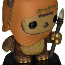 Funko Bobugt056 Cine estatuilla Star Wars Bobble Head Pop 26 Wicket 0