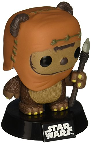 Funko-Bobugt056-Cine-estatuilla-Star-Wars-Bobble-Head-Pop-26-Wicket-0