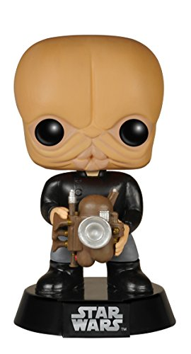 Funko Estatuilla Star Wars banda Cantina Nalan Cheel Pop 10cm 0849803057794 Fig head nalan cheel 10cm star wars 0
