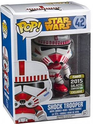 Star Wars POP Vinyl Cabezn Shock Trooper Convention Special 10 cm 0 0