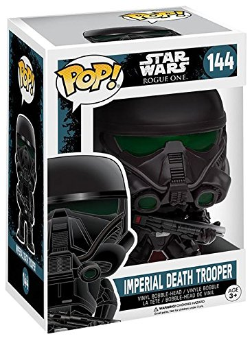 Star-Wars-Rogue-One-Figura-Vinilo-Imperial-Death-Trooper-Bobble-Head-144-Figura-de-coleccin-0