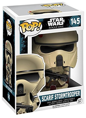 Star-Wars-Rogue-One-Vinilo-Scarif-Stormtrooper-Bobble-Head-144-Figura-de-coleccin-0