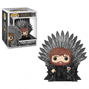 Funko Pop Deluxe Game of S10 Tyrion Sitting on Iron Throne Figura Coleccionable 37404 0 0