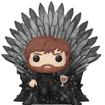 Funko Pop Deluxe Game of S10 Tyrion Sitting on Iron Throne Figura Coleccionable 37404 0