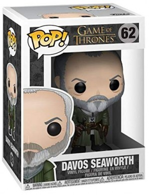 Pop TV Game of Thrones Davos Seaworth Vinyl Figure 0