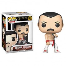 Funko Queen Pop Vinyl Freddie Mercury Variant PREPEDIDO 0
